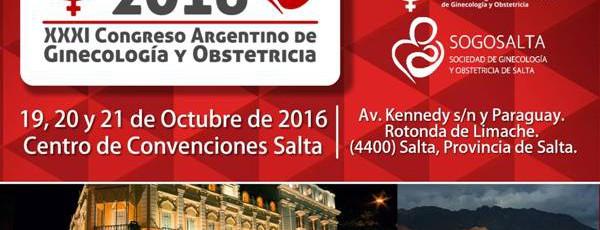 XXXI Congreso Argentino de Ginecología y Obstetricia
